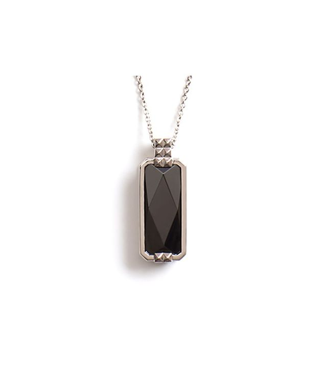 Vinaya Altruis Silver and Black Necklace