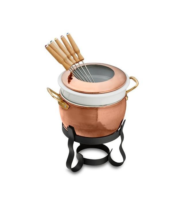 Williams-Sonoma Rufoni Copper Fondue Set