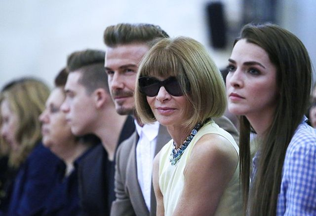 The FROW at Victoria Beckham S/S 16.