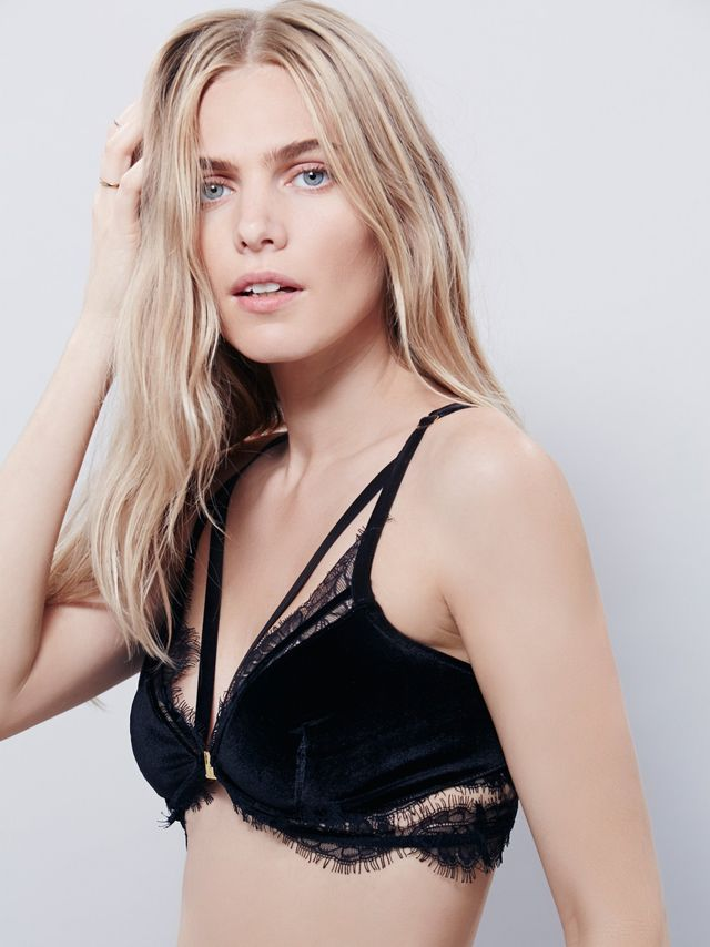 Skivvies by For Love and Lemons Marseille Bralette