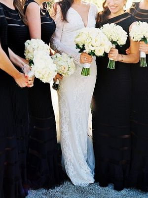 How to Style Your Bridal Party for Cooler Temps: 6 Dos and Don'ts