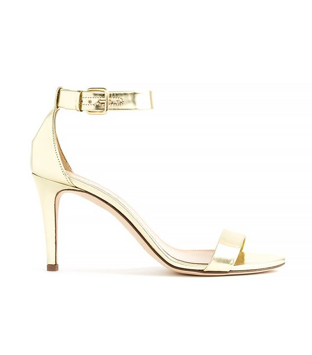 J.Crew Mirror Metallic High-Heel Sandals