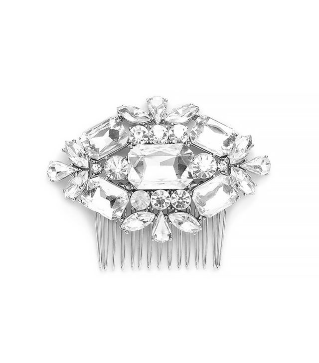 J.Crew Large Jeweled Comb