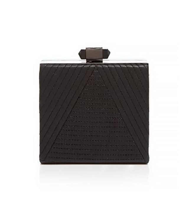 Sondra Roberts Quilted Nappa Box Clutch