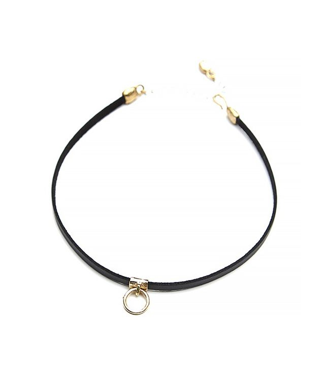 Luiny Sol Leather Choker