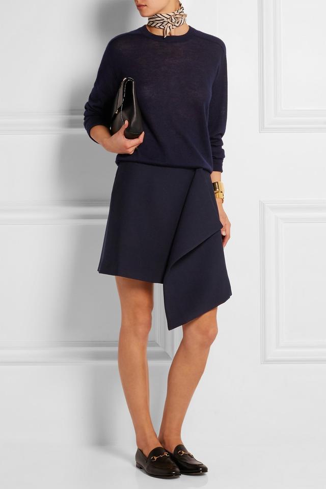 Totême Domitz Twill Wrap Mini Skirt