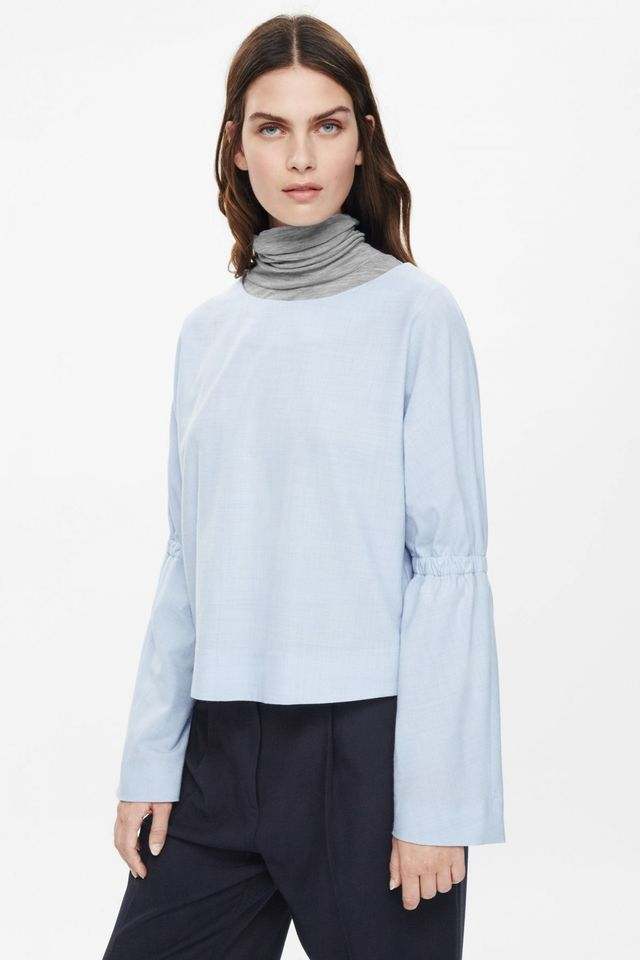 COS Gathered Detail Top