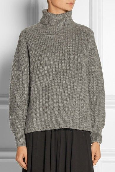 Étoile Isabel Marant Laney Ribbed Wool and Alpaca-Blend Turtleneck