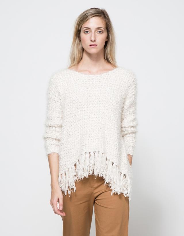 Farrow Folk Fringe Sweater