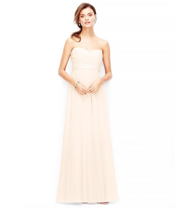 Ann Taylor Silk Georgette Dress