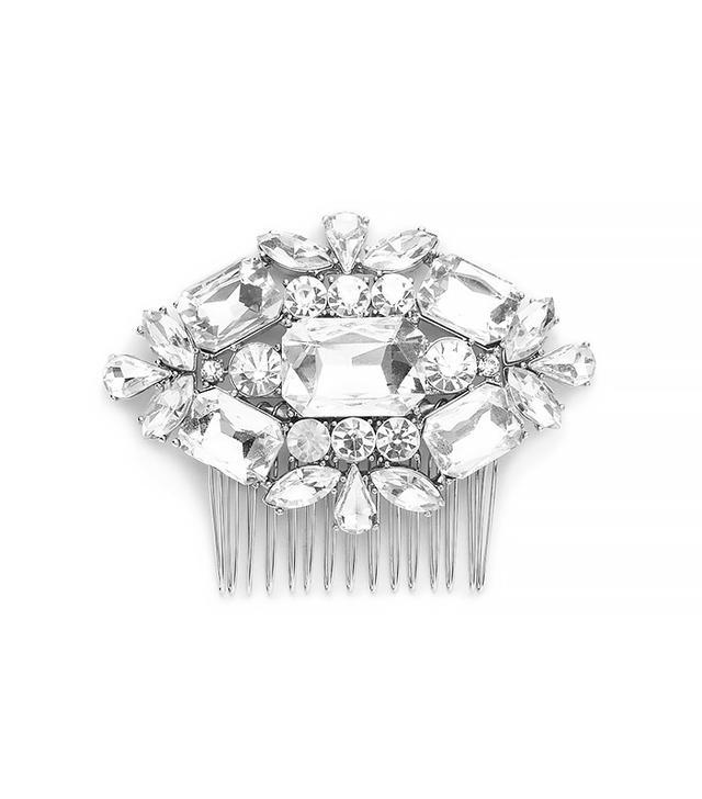J.Crew Large Jeweled Comb