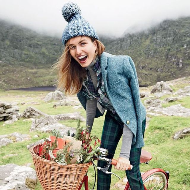 We're Swooning Over J.Crew's Holiday Shoot in Ireland