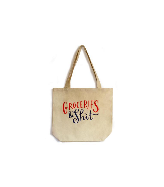Emily McDowell Groceries (Etc.) Tote