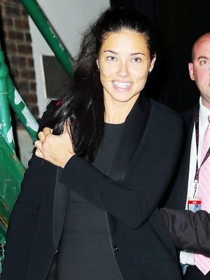 Adriana Lima's Latest Outfit Is Perfect for Date Night