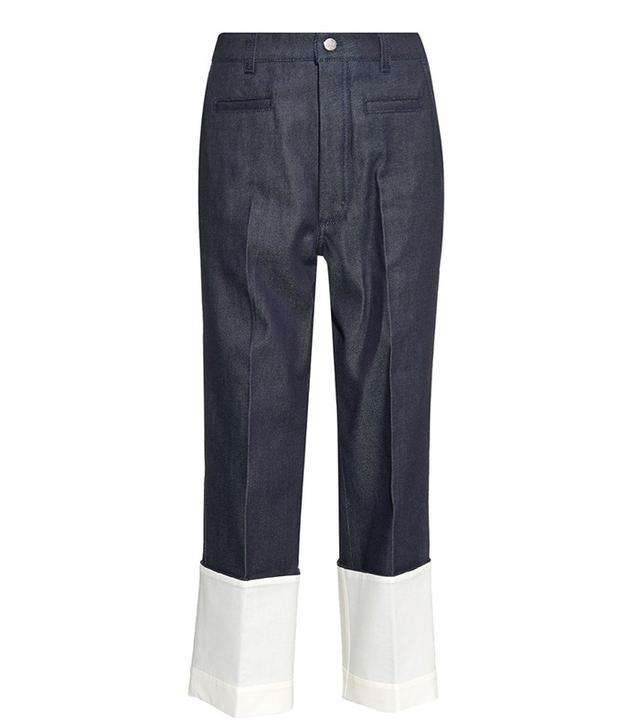 Loewe Risherman Turn-Up Hem Jeans