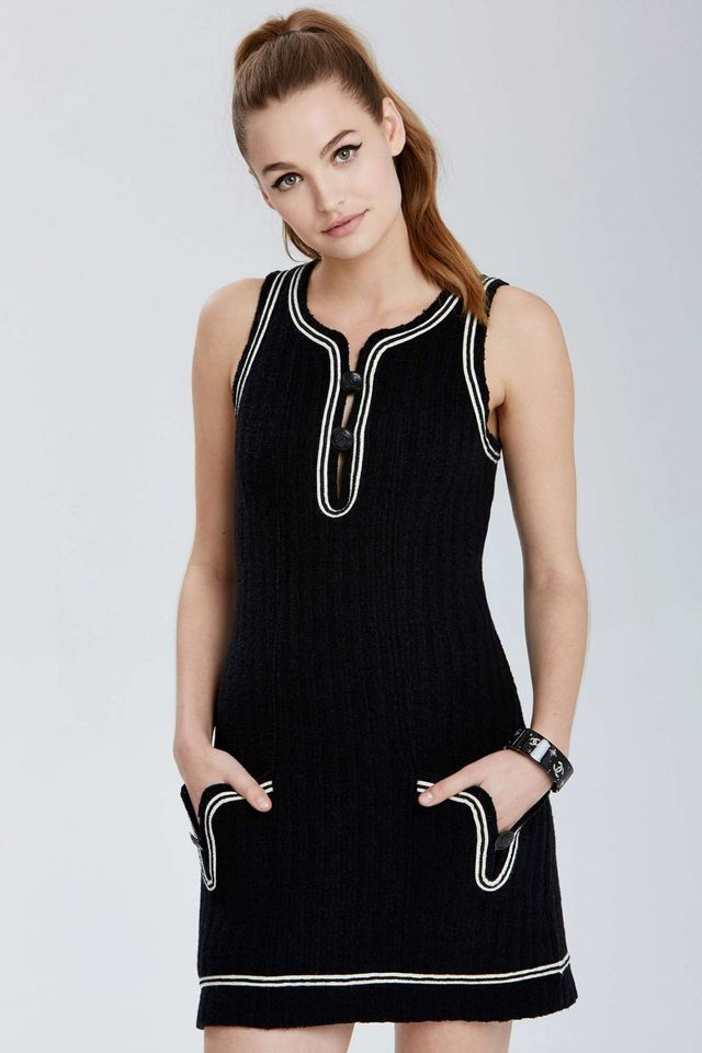 Chanel Lille Knit Dress