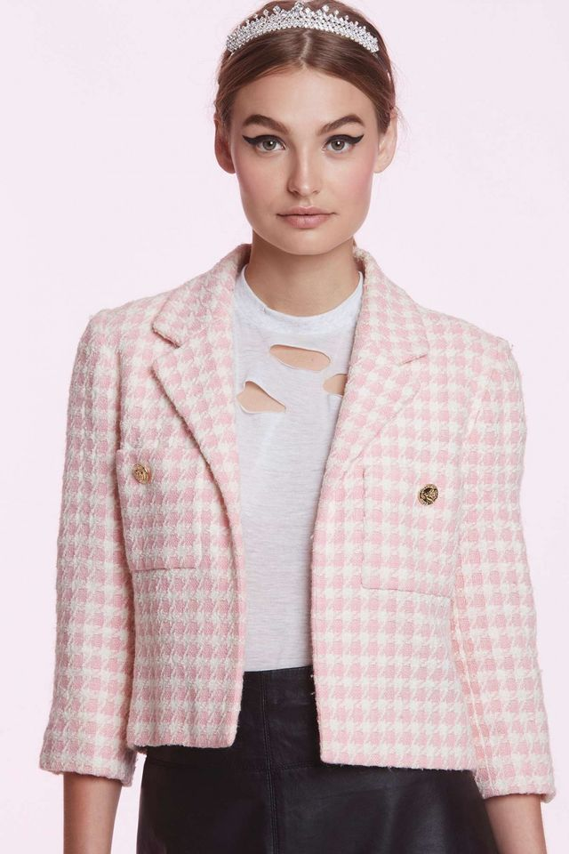 Chanel Francine Tweed Blazer