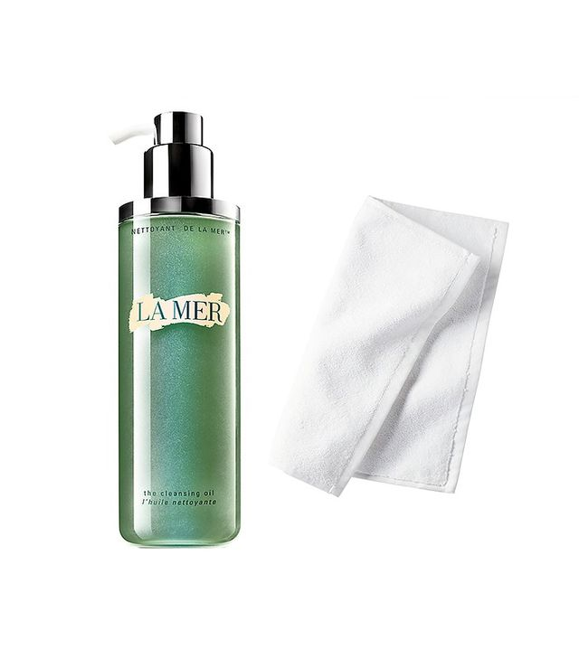how to use la mer cleansing oil
