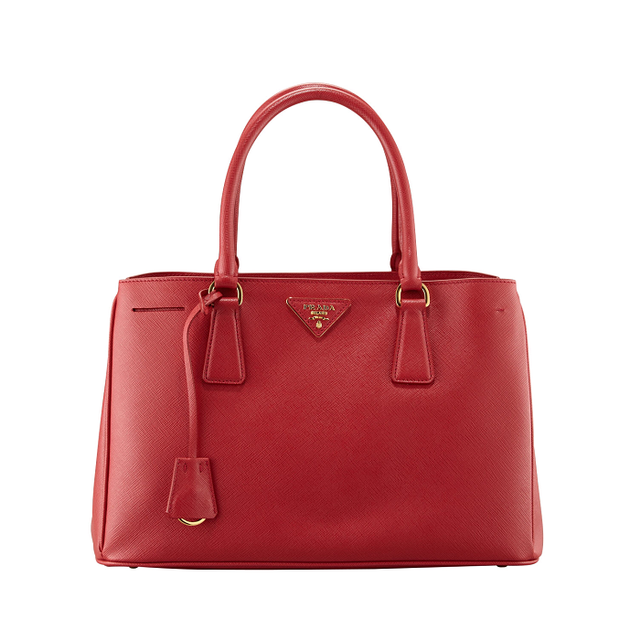 Prada Saffiono Small Double-Handle Tote Bag