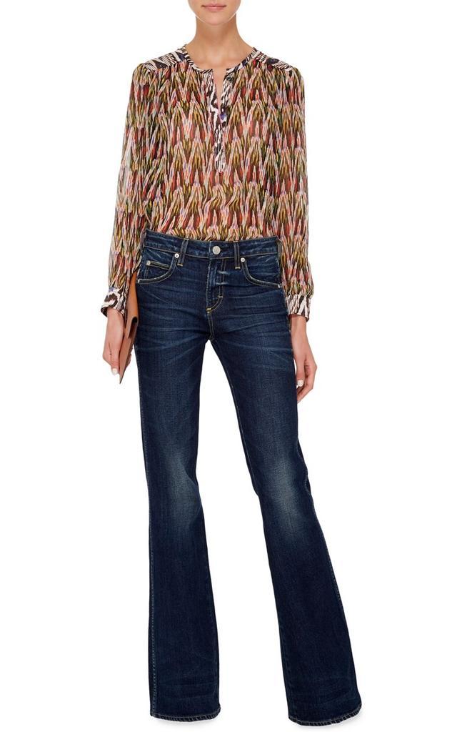 AMO Kick High Waisted Flared Jeans