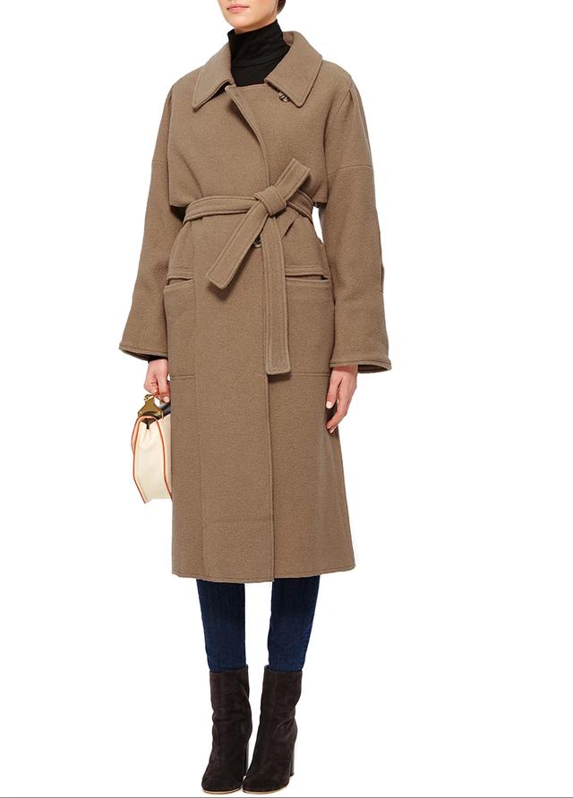 Apiece Apart Ilana Wool Wrap Coat