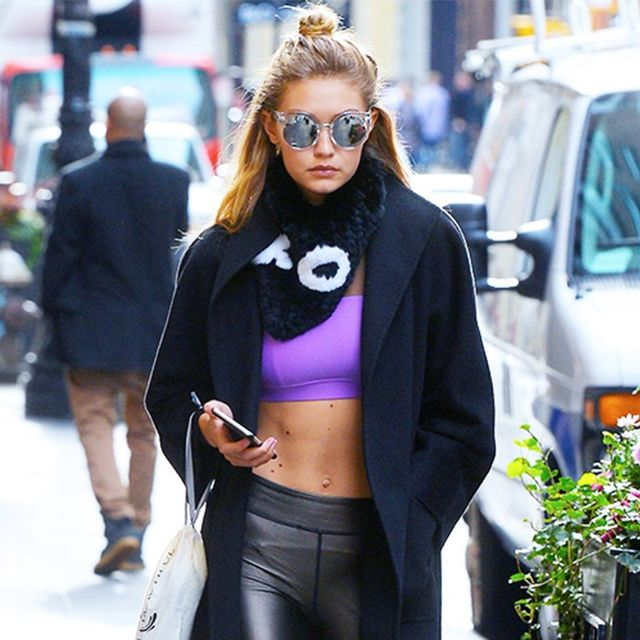 How to Dress Like Gigi Hadid for Your Gym Class