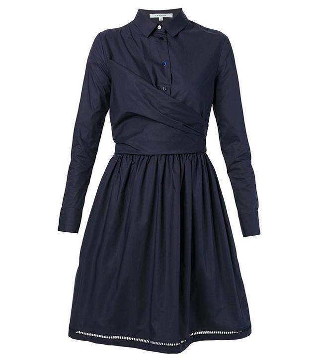 Carven Wrap-Style Shirt Dress