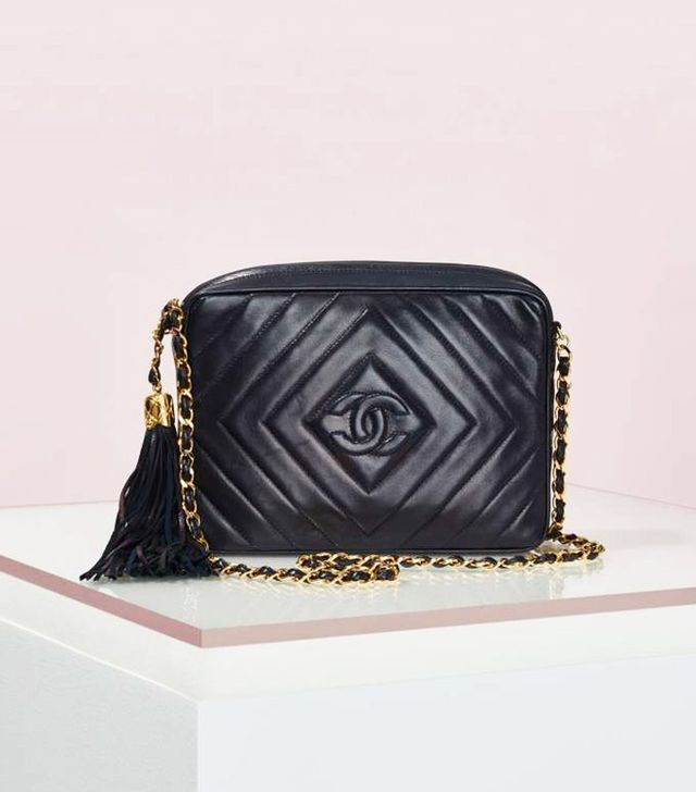 Chanel Quilted Fringe Leather Bag