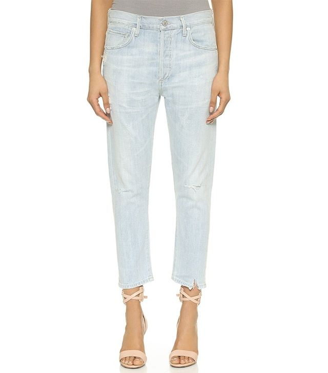 Citizens of Humanity Corey Slouch Slim Cropped Jeans