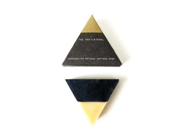 Bar Soap Brooklyn The Equilateral: Black Gold