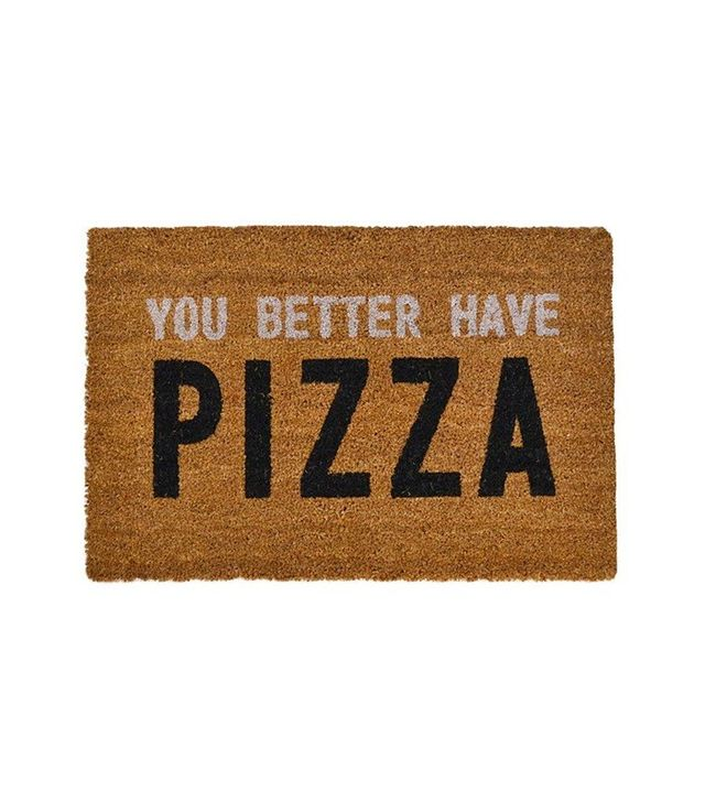 Lulu & Georgia You Better Have Pizza Doormat