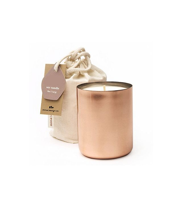 Coveted Home Cuivre Copper Candle in Sable