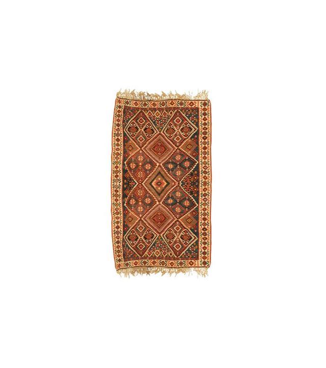 1st Dibs 1930s Persian Geometric Persian Rug