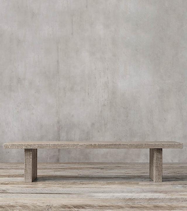 Restoration Hardware Russian Oak Plank Dining Table