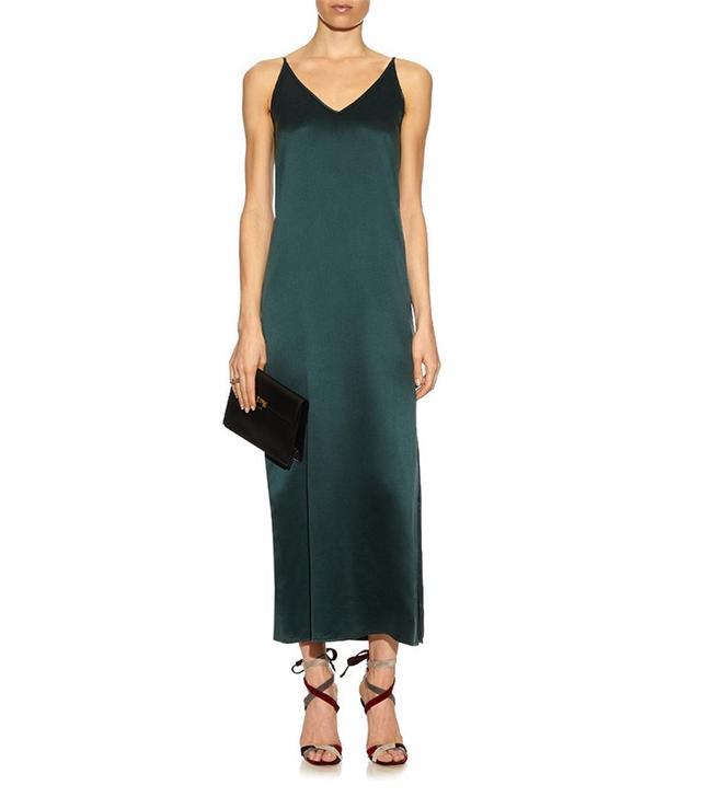 Equipment Racquel Silk Slip Dress