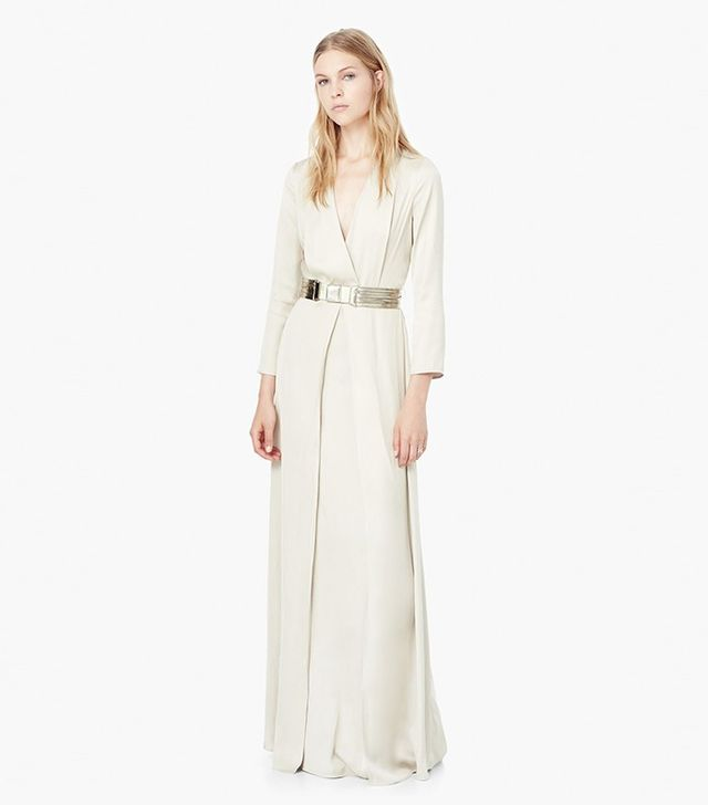 Mango Belted Gown