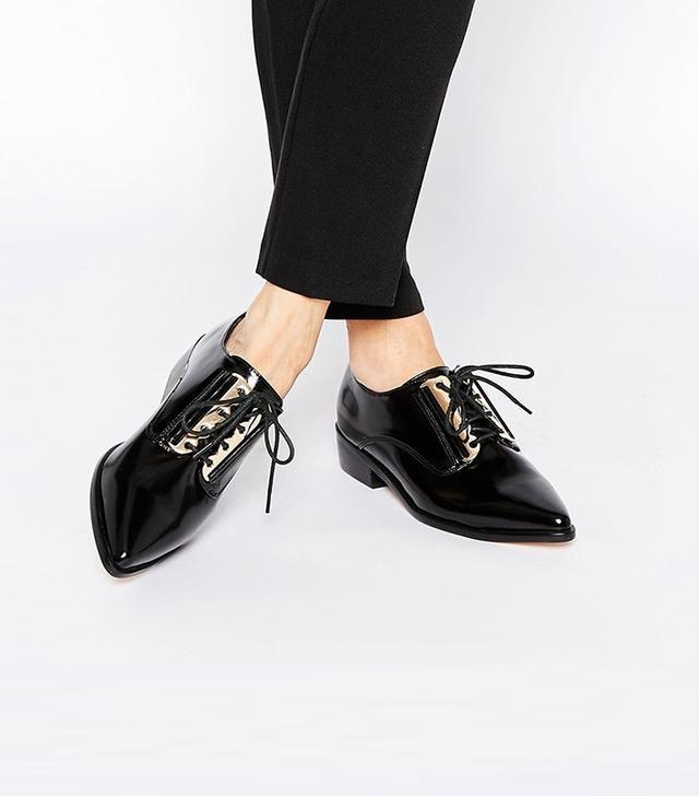 ASOS Meditate Flat Shoes
