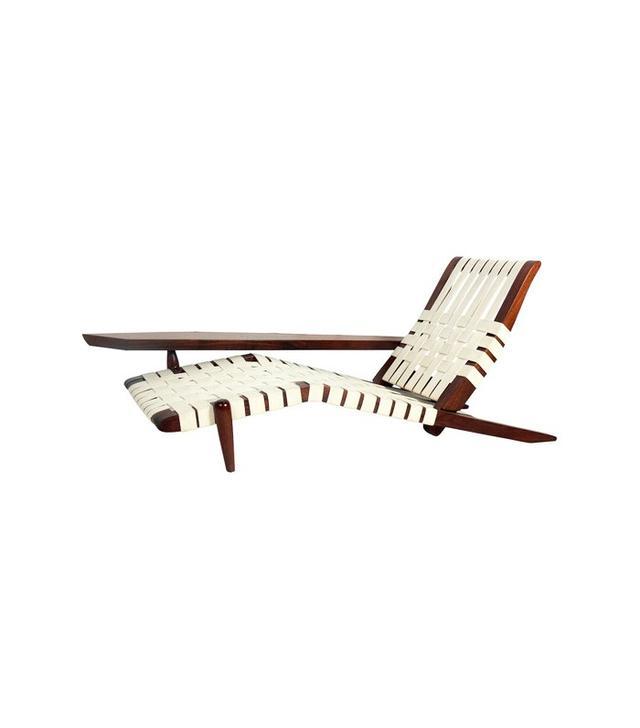 George Nakashima Chaise Lounge