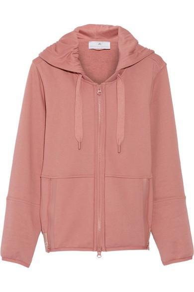 Adidas by Stella McCartney Essentials cotton-blend hooded top