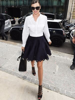 Miranda Kerr's Main Factor in Deciding What to Wear