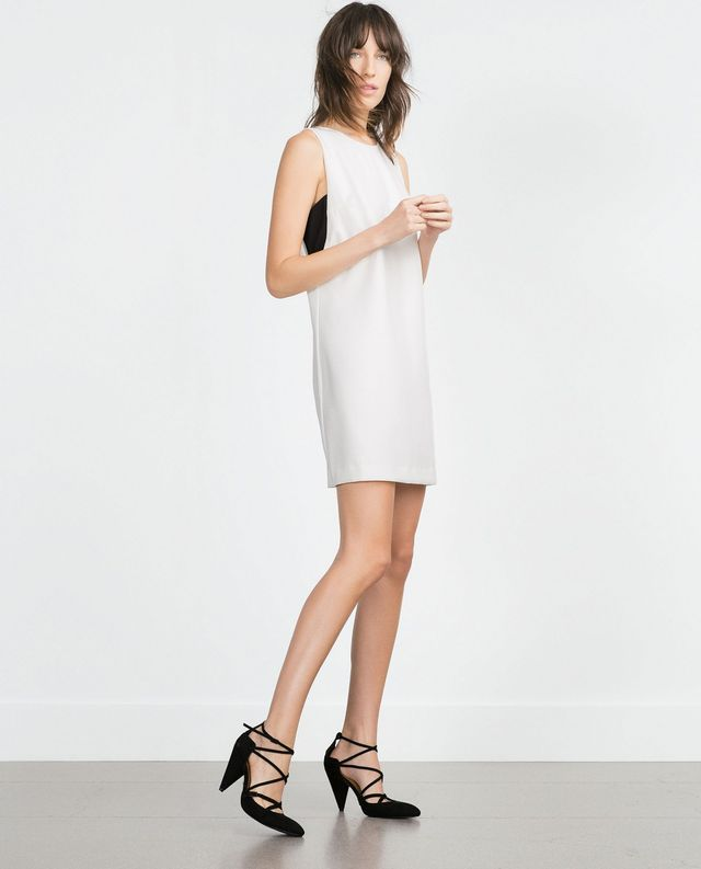 Zara Short Dress in White