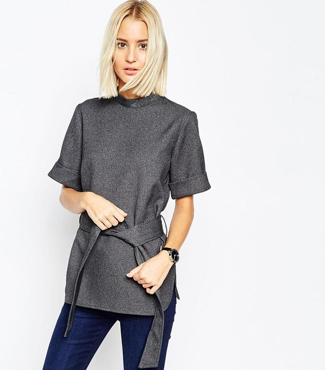 ASOS High Neck Tunic