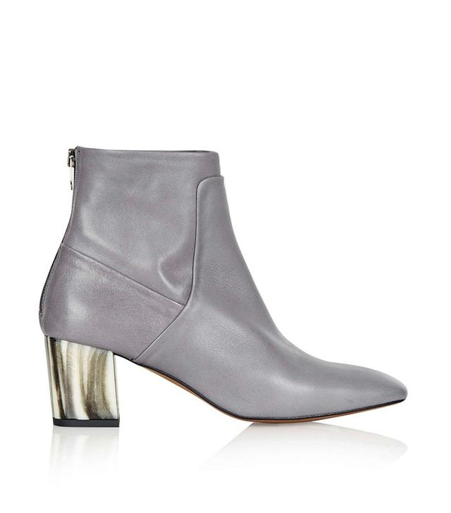 Topshop MEG Bone Heel Boots