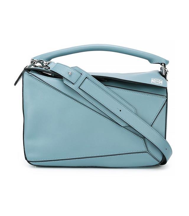 Loewe Puzzle Bag Stone Blue