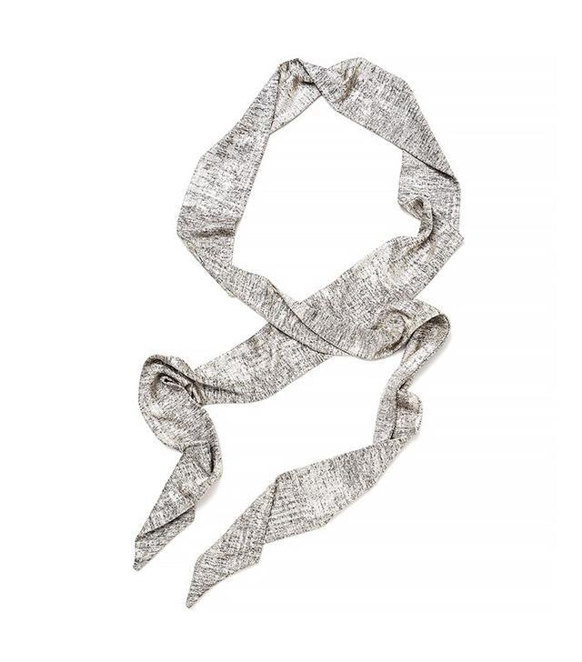 Zara Metallic Detail Scarf