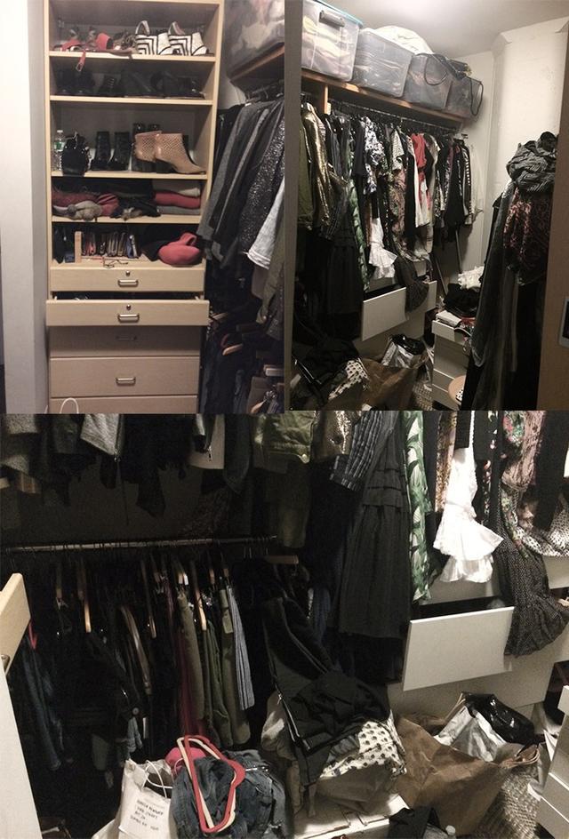 Closet #1: Before
