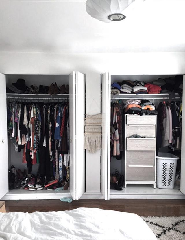Closet #2: Before