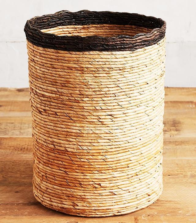 Anthropologie Rimmed Basket