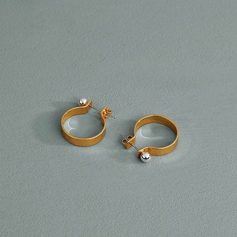 Hurlock Hoop Front to Back Earrings