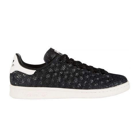 Stan Smith Snake-Effect Suede Sneakers